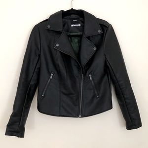 UO Faux Leather Jacket